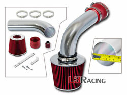 Red Cold Air Intake Kit+dry Filter For 93-98 Vw Jetta Glx A3 Mk3 2.8l Vr6