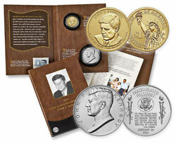 In Hand 2 2015 John F Kennedy Coin And Chronicles Sets In Unopened Mint Box