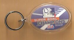 Indianapolis Colts Super Bowl Xli Champions Official Licensed Key Ring