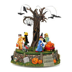 Department 56 Halloween Village Costume Parade Musical Animated