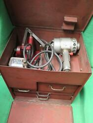 K. O. Lee Knock Out Valve Seat Grinder Tool Kit P302 Stand Drivers Stones Holder