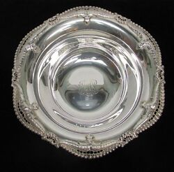 Wonderful 1898 And Co Sterling Silver Reticulated Rim 9 Bowl