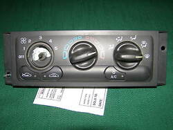2001 2002 2003 2004 2005 CHEVY VENTURE AC CLIMATE CONTROL OEM wo rear defroster