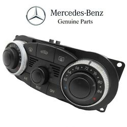 For Mercedes R230 Operating Control Unit Dial Assembly Climate Control Genuine