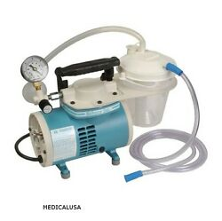 New Schuco/ Gomco S430a Aspirator/suction Pump Complete With All Hoses.