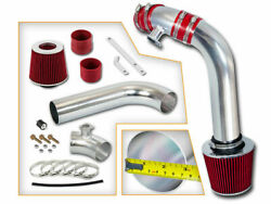 Red Cold Air Induction Intake Kit + Filter Bmw 92-98 E36 3-series 323/323i/323is