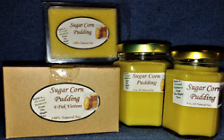 Hand Poured Fall Autumn Scents Soy Candles, Tarts And Votives - Sugar Corn Pudding