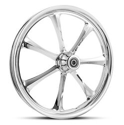 Dna Crystal Chrome Forged Billet 19 X 2.15 Front Wheel Harley Dyna Softail