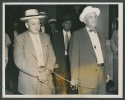 1954 Roger The Terrible Touhy, Chicago Gangster Vintage Photo