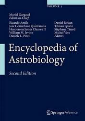 Encyclopedia Of Astrobiology English Hardcover Book Free Shipping