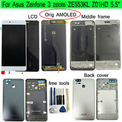 Original Amoled 5.5 For Asus Zenfone 3 Zoom Ze553kl Lcd Display Touch Screen