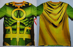 Loki Thor Marvel Comics Costume Front And Back Sublimation Print T Shirt