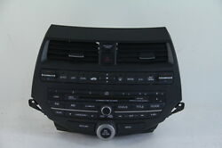 Honda Accord 08-12 AMFM XM Radio 6 CD Changer Player Dual Auto Climate Control