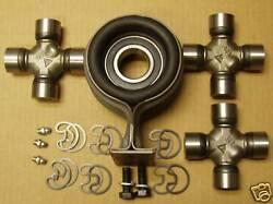 70 71 72 Chevy Pick Up Truck C10 Hanger Bearing Kit+ 3 U Joints 3 Speed Or Auto