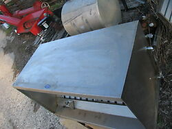 Nielsen's Grease Exhaust Vent Hood System Stainless Steel Restaurant