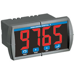New Precision Digital Pd765-6r5-10 Pd765 Trident Process And Temperature Meter