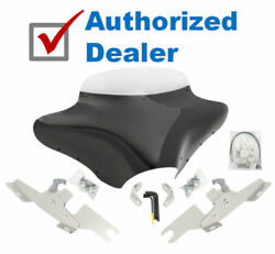 Memphis Shades Batwing Fairing Windshield Package Kit Harley Dyna Switchback Fld