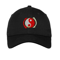 Soft Women Baseball Cap Jeet Kune Do Embroidery Dad Hats for Men Buckle Closure $16.99