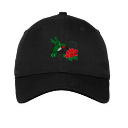 Soft Women Baseball Cap Hummingbird A Embroidery Dad Hats for Men Buckle Closure $14.99