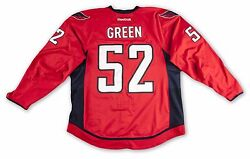 Washington Capitals Mike Green 2012-13 Game Worn/used Home Jersey Meigray