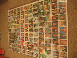 1968 Topps Non Sport Multi Series Uncut Sheet- 2 Babe Ruth Cards Finished Backs