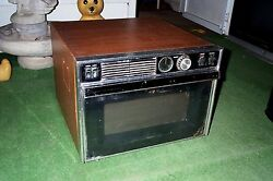 Microwave Oven Vintage 1970's 1980 Sears Kenmore Rotary Knobs Antique Appliance