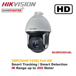 Newhikvision 3mp 36x Outdoor Smart Ir Ptz Speed Dome Camera W/ Smart Function