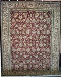 Qum Lotus Rug  9 x 12  Home Decor  Area Rugs