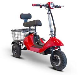 New From - Ewheels Sporty Electric 3 Wheeled Mobility Scooter - 15 Mph Ew-19