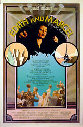 Edith And Marcel 1983 Claude Lelouch Edith Piaf Marcel Cerdan Us 1-sheet Poster