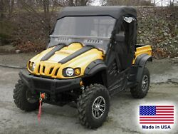 Cub Cadet Challenger Enclosure - Hard Windshield Doors Canopy And Rear Window