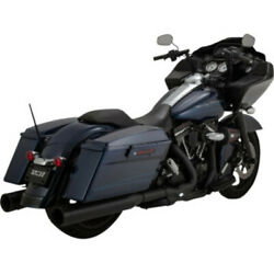 Vance And Hines Oversized 450 Destroyer Slip-on Mufflers Exhaust Harley Touring