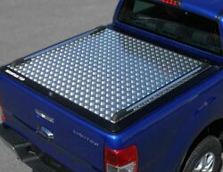 Ford Ranger 2016 Nlg Tonneau Cover Double Cab Alloy Chequer Plate Bed Cover