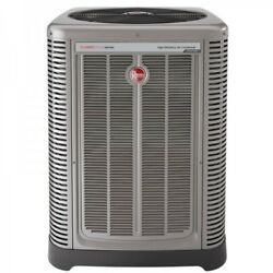 4 Ton Rheem 17 SEER R410A Two-Stage Air Conditioner Condenser