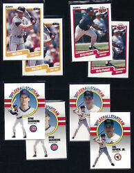 1990 Fleer U.s.a./u.s.a And Small/large Gap Variations Pick Card / Player