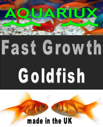Premium Grade Goldfish Pellets Fast Growth High Protein Sinking Gold Fish Feed H
