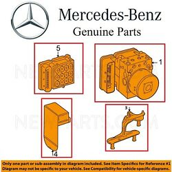 For Mercedes W204 ABS Hydraulic Stability Control Units Bracket Cover Assie Kit