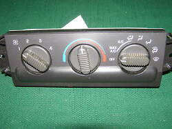 2002 2003 2004 CHEVY S10 S15 AC CLIMATE CONTROL OEM   manual mirrors
