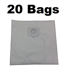 20 Type Q Bags For Kenmore Vacuum 5055, 50558, 50557 Hepa Cloth Canister 433934