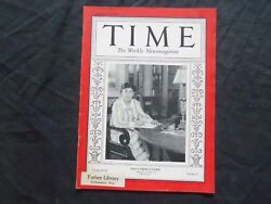 1931 August 3 Time Magazine - Willa Sibert Cather - T 284