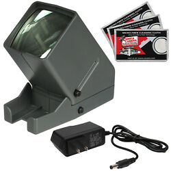Zuma SV-3 LED 35mm 2x2 Film Slide and Negative Viewer with AC Adapter Kit