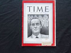 1942 March 16 Time Magazine - Lord Linithgow, Viceroy Of India - T 805