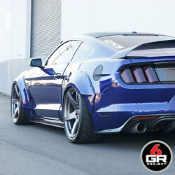 19 Project 6gr Five R-spec 11/11.5 Graphite Wheels For Mustang Gt350 Gt350r