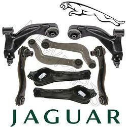 For Jaguar X-Type Set of 2 Front & Rears Complete Susp. Control Arms Kit Genuine