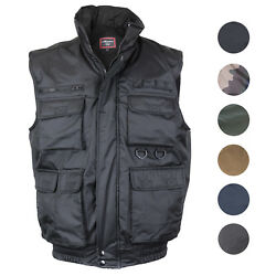 Menand039s Multi Pocket Military Fishing Hunting Utility Tactical Vest Fv-126