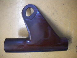Nos Yamaha Cinnamon Brown Right Front Fork Upper Cover 74 Tx650 447-23131-51-n9