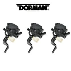 For Toyota Prius Set Of 3 Heater Water Control Hybrid Coolant Control Valves