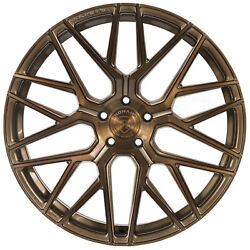 20 Rohana Rfx10 Brushed Bronze Concave Wheels For Land Rover