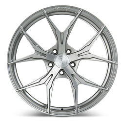19 Rohana Rfx5 Brushed Titanium Concave Wheels For Chevy