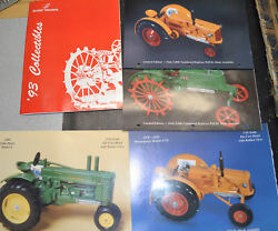 Stack Of Farm And Tractor Toy Implement Collecting Catalogs And Ephemera L3